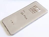 Чохол для Samsung Galaxy S8 Plus G955 силіконовий ультратонкий прозорий сірий