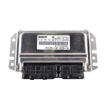 Контроллер системы управления двигателем Bosch 21126-1411020-10, фото 2