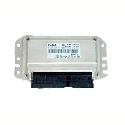 Контроллер системы управления двигателем Bosch 21126-1411020-30, фото 2