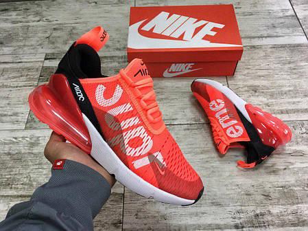 104c5f7024fc6e Мужские кроссовки Supreme X Nike Air Max 270 (Топ реплика ААА+), фото