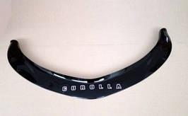 Дефлектор капота, мухобойка TOYOTA COROLLA E16 XI gen  2013r-> VIP