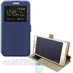 Чехол-книжка Modern 1 окно Lenovo K6, K6 Power синий