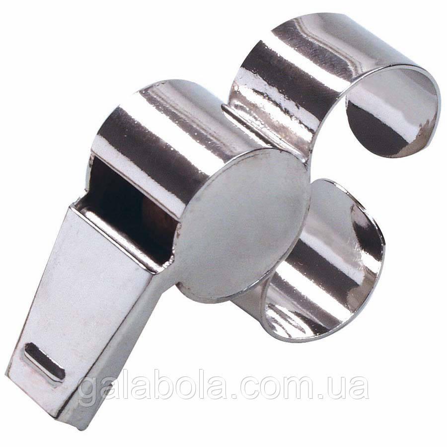 Свисток SELECT (металлический, с креплением на палец)