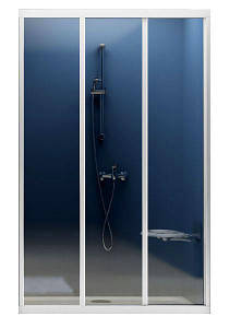 Душові двері 110 Ravak ASDP3 Чехія (скло прозоре, профіль білий)