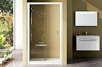 Душові двері 110 Ravak BLIX BLDP2 Чехія (прозорі, профіль білий)