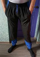 """Удобные трикотажные мужские трикотажные брюки """"Ускачи ,вставка"""" РАЗНЫЕ ЦВЕТА"""