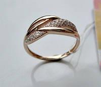 Золотое колечко 1.85 грамма 16.5 размер ЗОЛОТО 585 пробы, фото 1