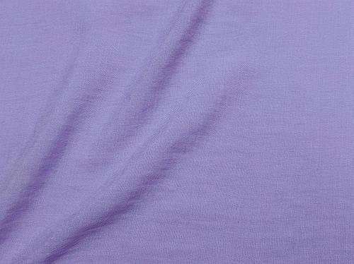 Ткань лен плательный, сиреневый
