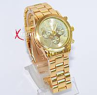 Женские наручные часы Michael Kors, часы Майкл Корс золотистые , фото 1