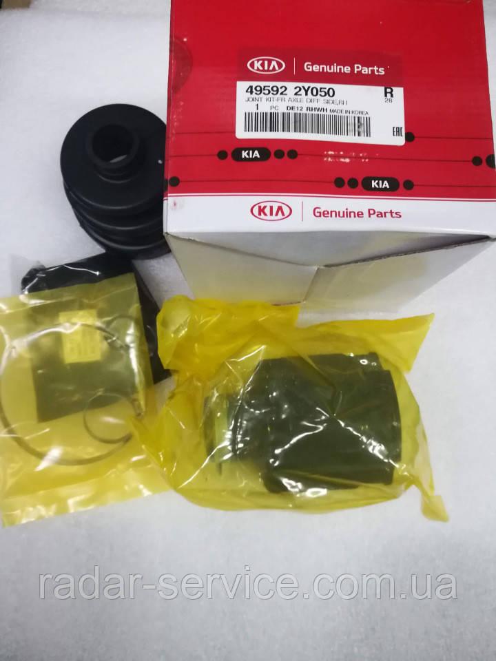 Шрус внутрішній правий граната, KIA Sportage 2010-15 SL, 495922y050