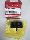 Обвідний Ролик ременя генератора середній нижній, KIA Sportage 2010-15 SL, 2528727060, фото 2