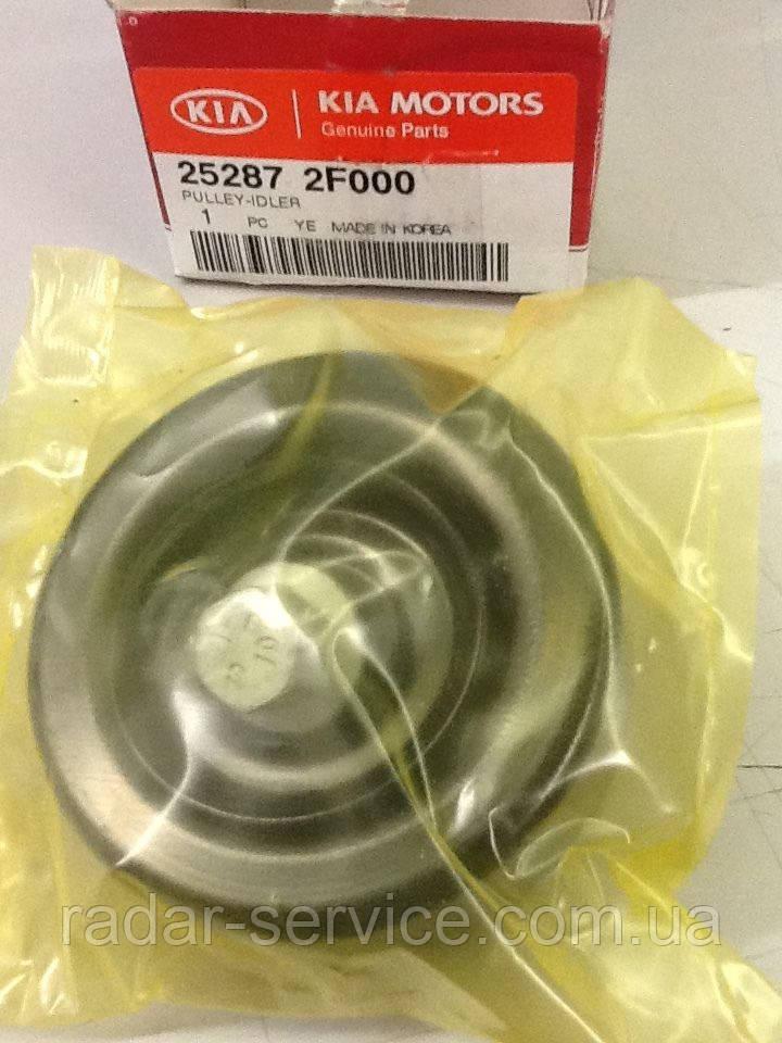Ролик обводной ремня генератора средний верхний, KIA Sportage 2010-15 SL, 252872f000