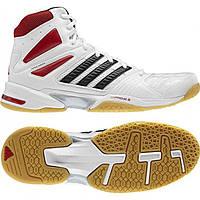Кроссовки Adidas Opticourt Response hi 42.5 27 см Белый с красным