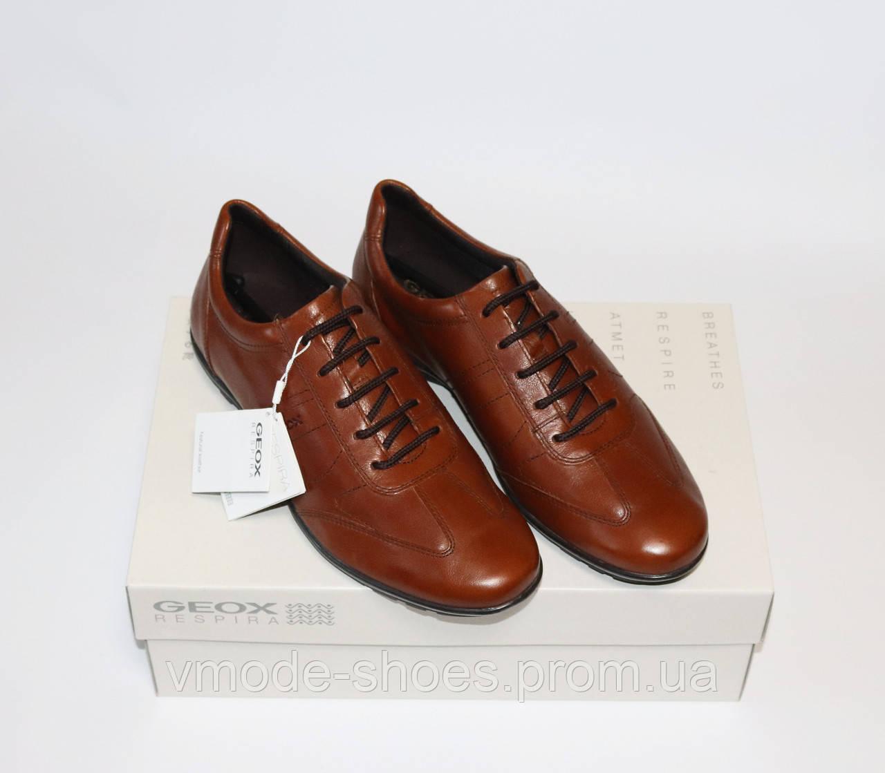 dfec87762 Мужские туфли GEOX Respira оригинал. Натуральная кожа. 44-46 ...