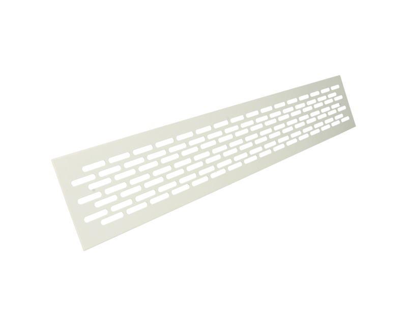 Решітка вентиляційна 60 х 480 біла REJS
