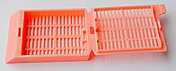 Кассета гистологическая розового цвета 31050102P