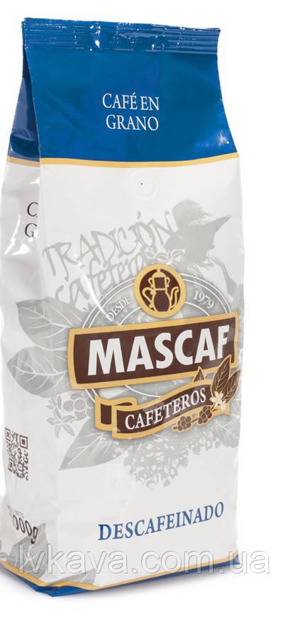 Кофе в зернах Mascaf Cafeteros Descafeinado,  1 кг