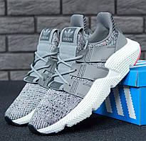 "Мужские кроссовки в стиле Adidas Prophere ""Grey/White"""