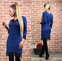 Платье с кружевом в расцветках 2124, фото 1