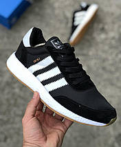 Мужские кроссовки Adidas Iniki Runner Boost Black/White, фото 3