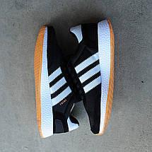 Мужские кроссовки Adidas Iniki Runner Boost Black/White, фото 2