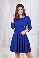 Платье с жемчужными бусинками в расцветках 2125, фото 1