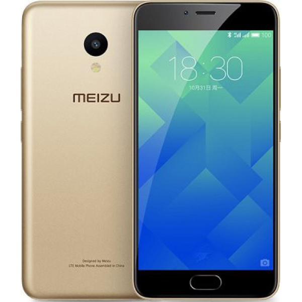 Сенсорный мобильный телефон Meizu M5 3/32 Gold