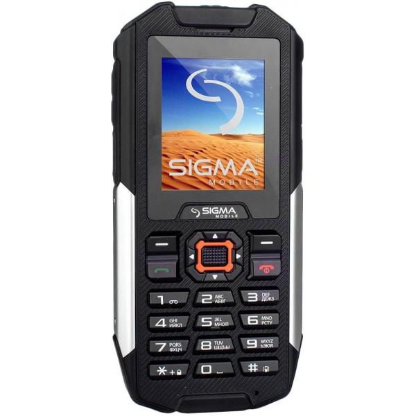 Пылевлагонепроницаемый кнопочный мобильный телефон Sigma mobile X-treame IT68