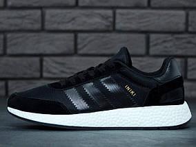 Мужские кроссовки Adidas Iniki Runner Boost Black, фото 3