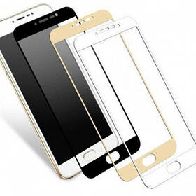 Защитное cтекло Full Screen Nomi i5010 Gold