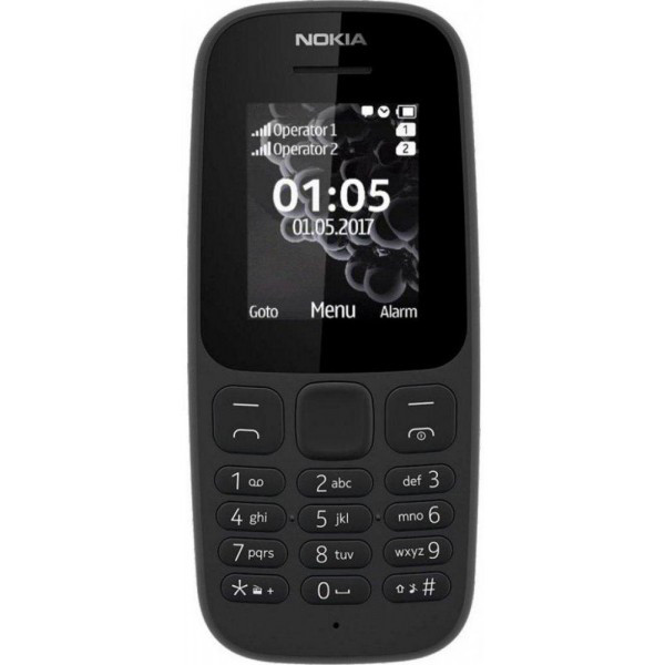 Nokia 105 DS NEW Black