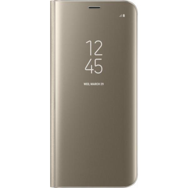 Чехол-книжка Samsung Clear View Standing Cover для Samsung Galaxy S8 Gold