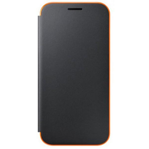Чехол Samsung Neon Flip Cover EF-FA320PBEGRU Black для Galaxy A3 (2017)