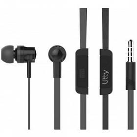 Гарнитура Utty MP3 Headset UHS-124 Black АКЦИЯ!!!