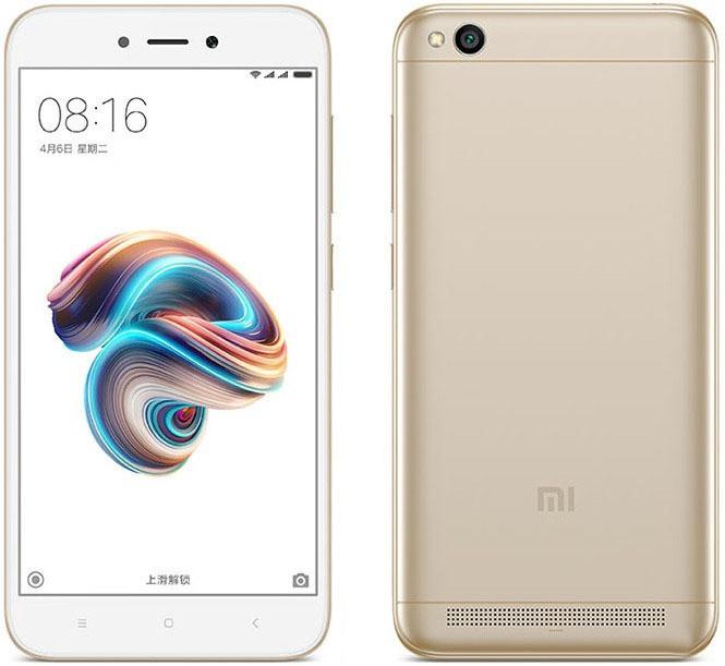 Смартфон Xiaomi Redmi 5A 3/32Gb LTE Dual Gold
