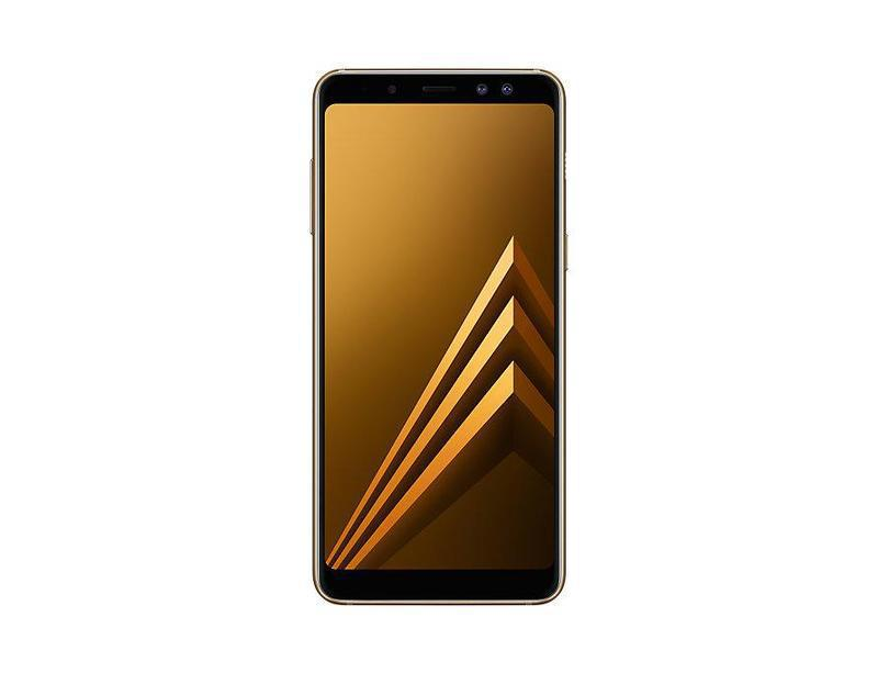 Смартфон Samsung A730F Galaxy-A8+ (2018) 4/64GB Золотой