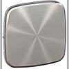 Клавиша для одноклавишного выключателя Valena Allure Legrand, светлая нержавеющая сталь