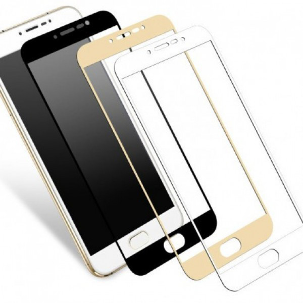 Защитное стекло 3D Meizu M3e Gold