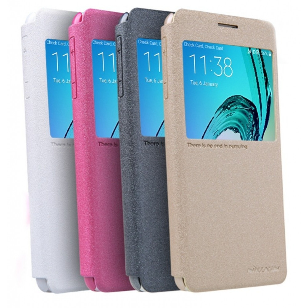 Чехол-книжка Nillkin Samsung J5 pink