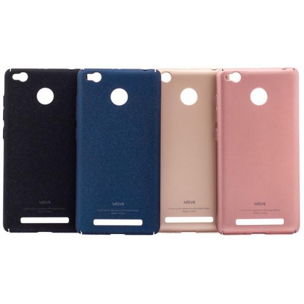 Пластиковый чехол-накладка MSVII Xiaomi Redmi Note 4 black