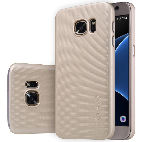 Пластиковый чехол-накладка Nillkin Samsung Galaxy G355 Gold