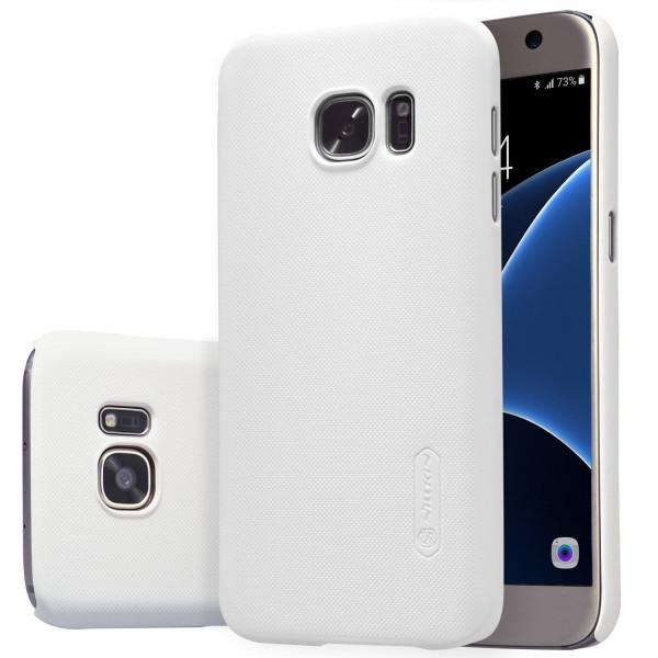 Пластиковый чехол-накладка Nillkin Samsung Galaxy i8190 White
