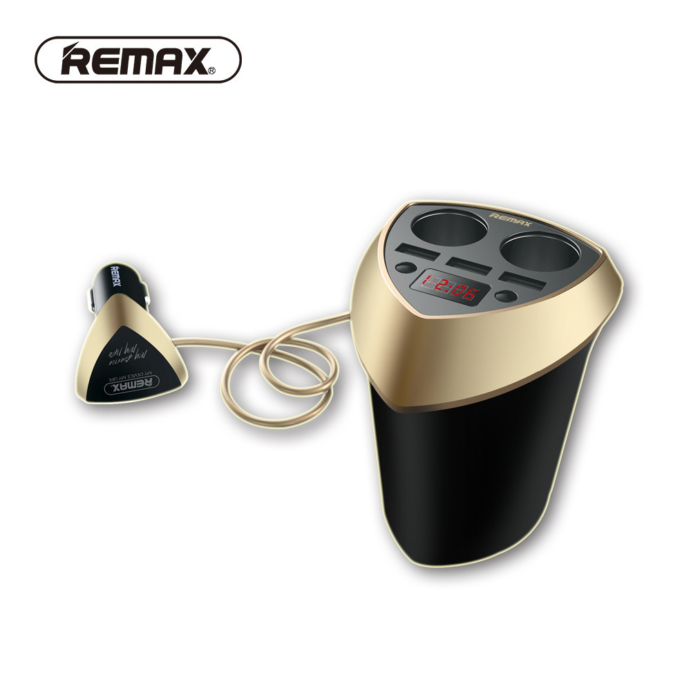 АЗУ Remax Smart Car Charger CR-3XP