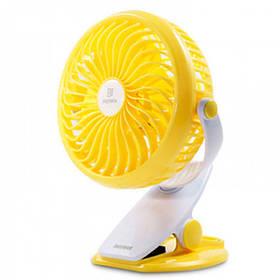 Вентилятор Remax Portable USB Mini Fan 360° (F2) yellow