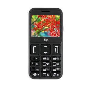 Кнопочный мобильный телефон Fly EZZY 9 Black