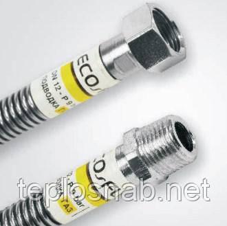 """Гибкий шланг Eco-Flex 3/4"""" ВВ 80 см. для газа/стандарт"""