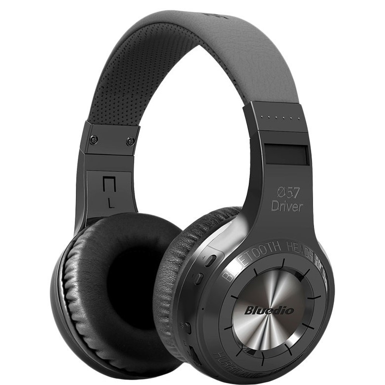 Стерео bluetooth-гарнитура BT Bluedio H Turbine Black
