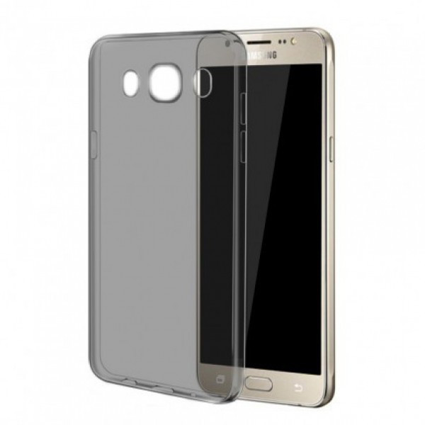 TPU чехол Ultrathin Series 0,33mm для Samsung J510F Galaxy J5 (2016) (Серый (прозрачный))