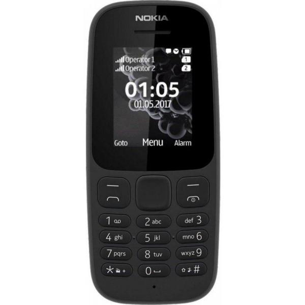 Nokia 105 SS New Black
