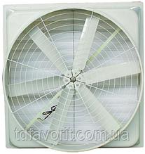Осьовий вентилятор скловолоконний ВХП 660, IP 54